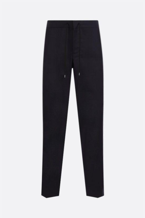 A.P.C.: pantalone straight-fit Etienne in lana Colore Blu_1