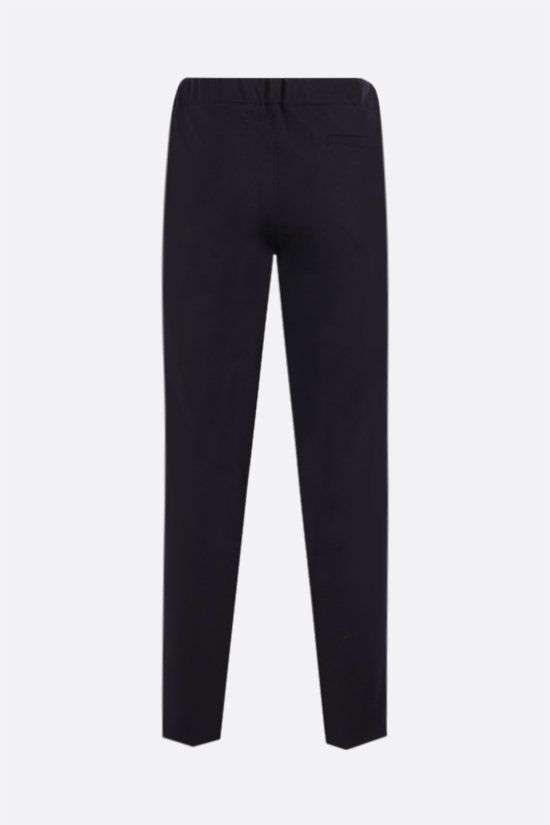 A.P.C.: pantalone straight-fit Etienne in lana Colore Blu_2