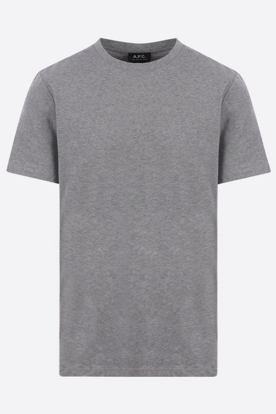 A.P.C.: Jimmy cotton t-shirt Color Grey_1