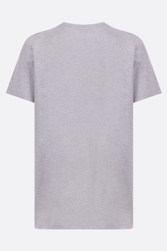 A.P.C.: raised logo cotton t-shirt Color Grey_2