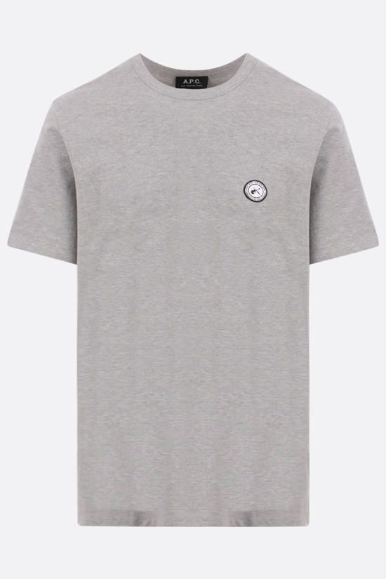 A.P.C.: Jay cotton t-shirt Color Grey_1