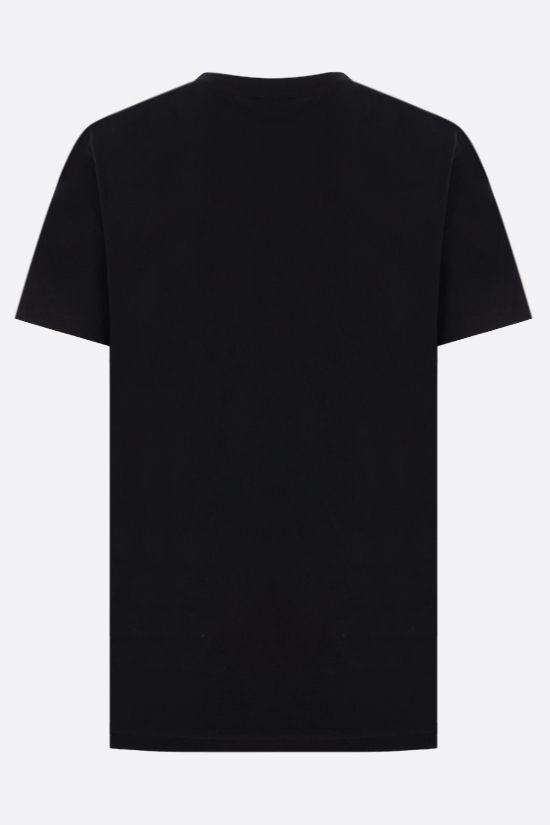 A.P.C.: Item cotton t-shirt Color Black_2