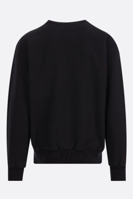 ARIES: Classic Temple cotton sweatshirt Color Black_2