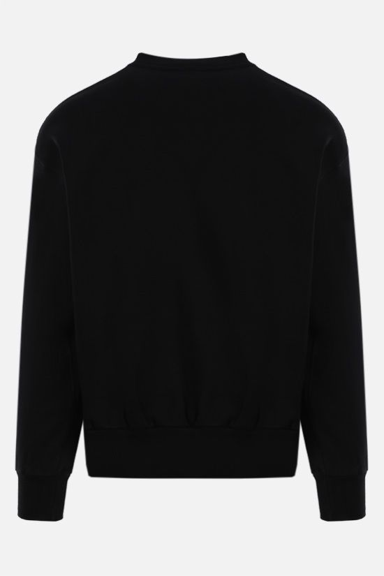 ARIES: No Problemo cotton sweatshirt Color Black_2