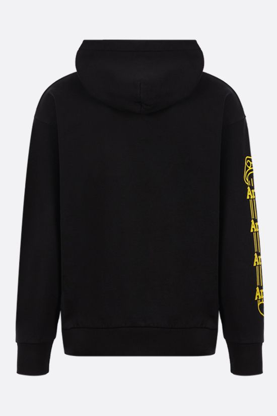 ARIES: Temple cotton hoodie Color Black_2