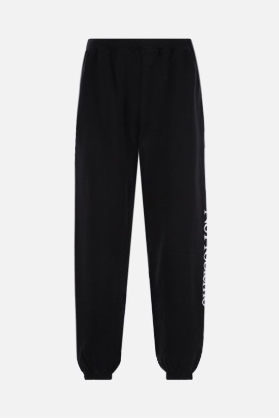 ARIES: No Problemo cotton joggers Color Black_1