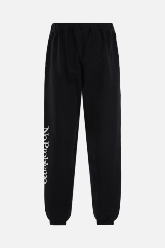 ARIES: No Problemo cotton joggers Color Black_2