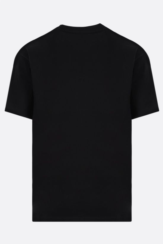 ARIES: No Problemo cotton t-shirt Color Black_2