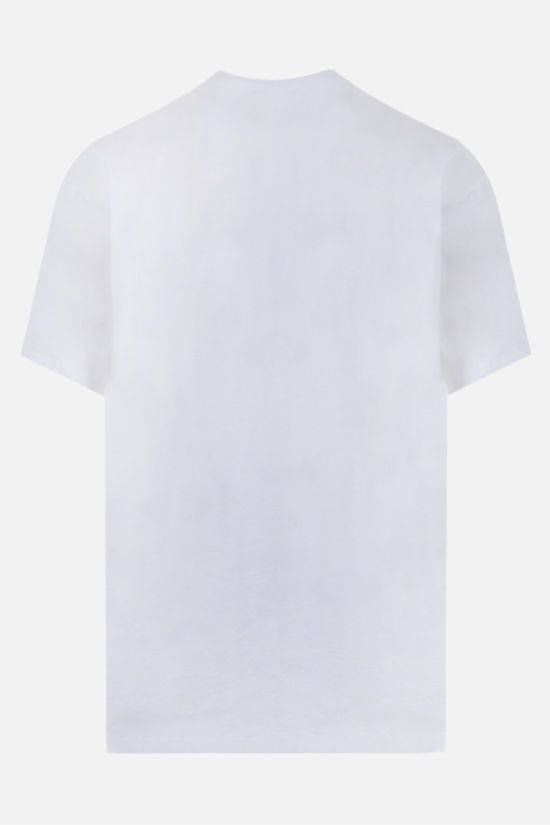 ARIES: No Problemo cotton t-shirt Color White_2