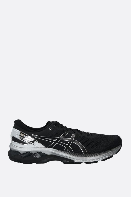 ASICS: Gel-Kayano 27 Platinum sneakers in a mix of materials Color Black_1