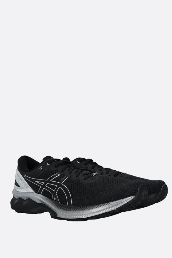 ASICS: Gel-Kayano 27 Platinum sneakers in a mix of materials Color Black_2