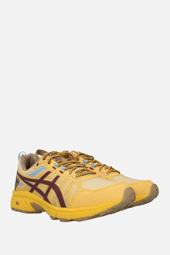 ASICS: Gel-Venture 7 sneakers in a mix of materials Color Yellow_2