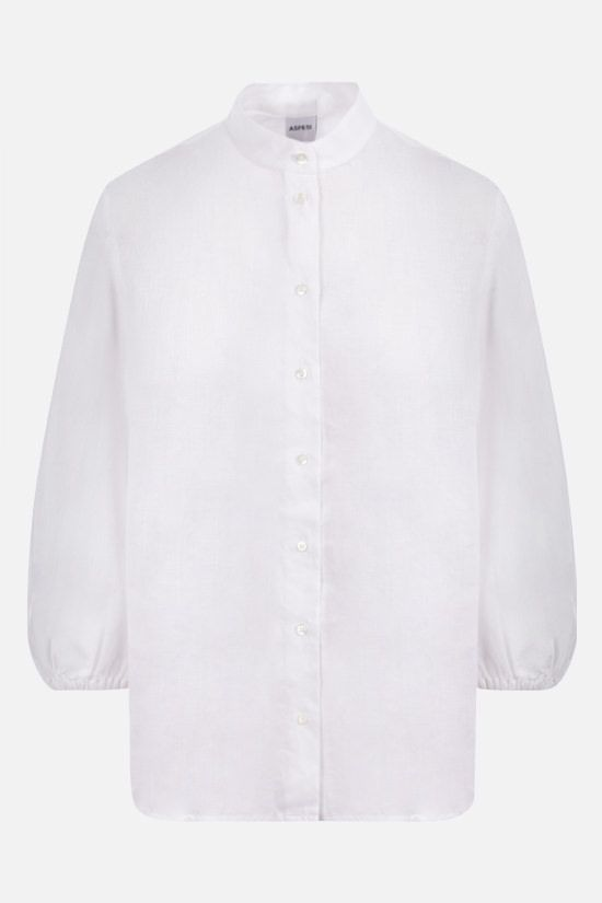 ASPESI: pure linen shirt Color White_1