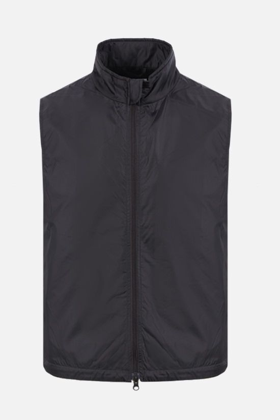 ASPESI: Vernes nylon padded vest Color Black_1