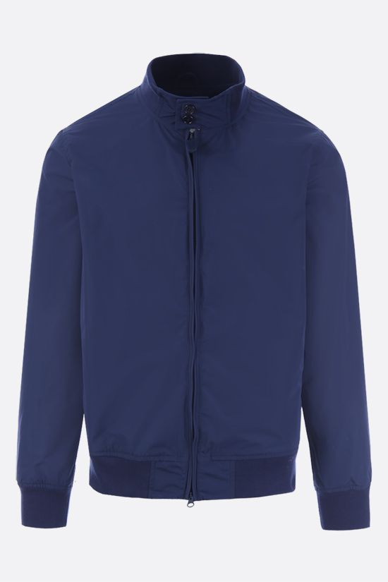 ASPESI: Swing nylon full-zip jacket Color Blue_1