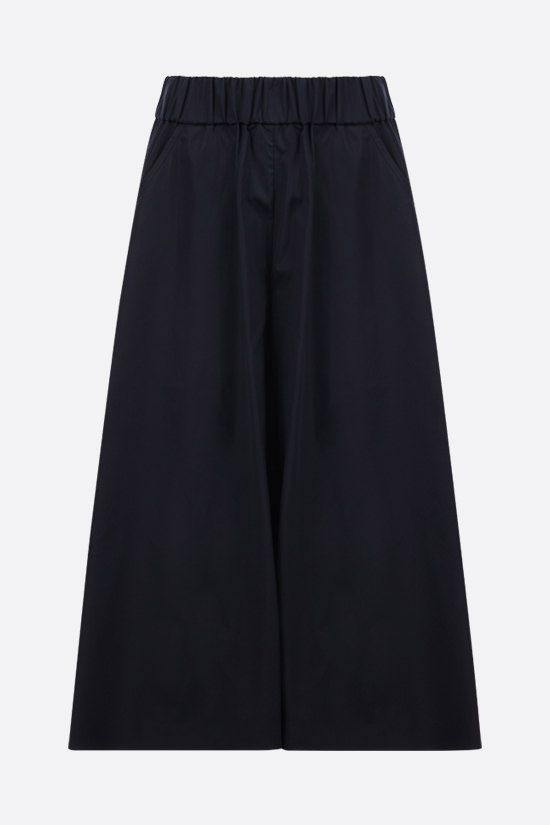 ASPESI: cotton pant-skirt Color Blue_1