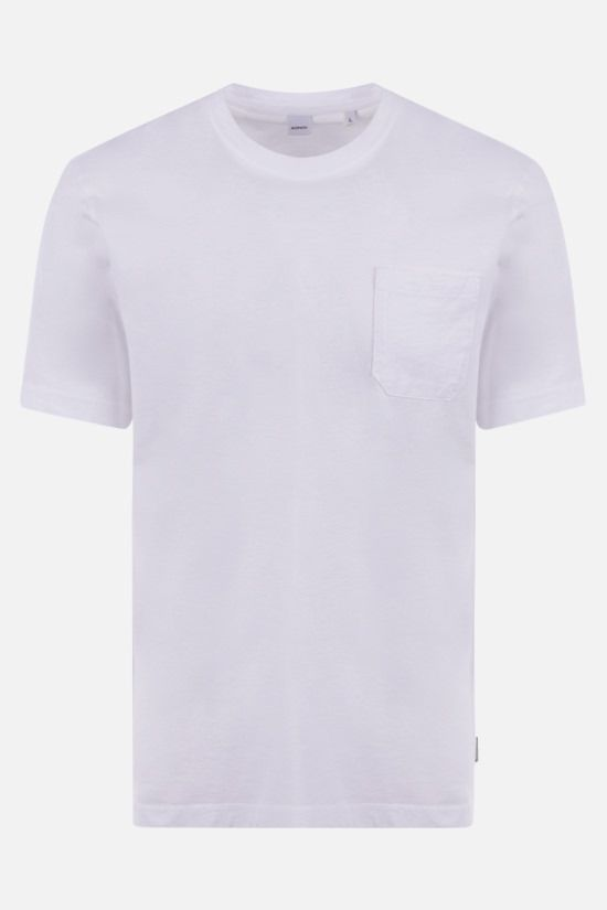 ASPESI: cotton jersey t-shirt Color White_1