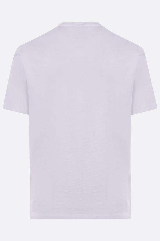 ASPESI: cotton jersey t-shirt Color White_2