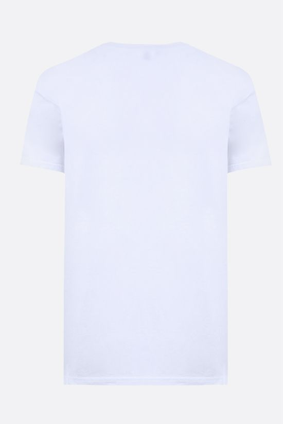 ASPESI: Silenzio cotton t-shirt Color White_2