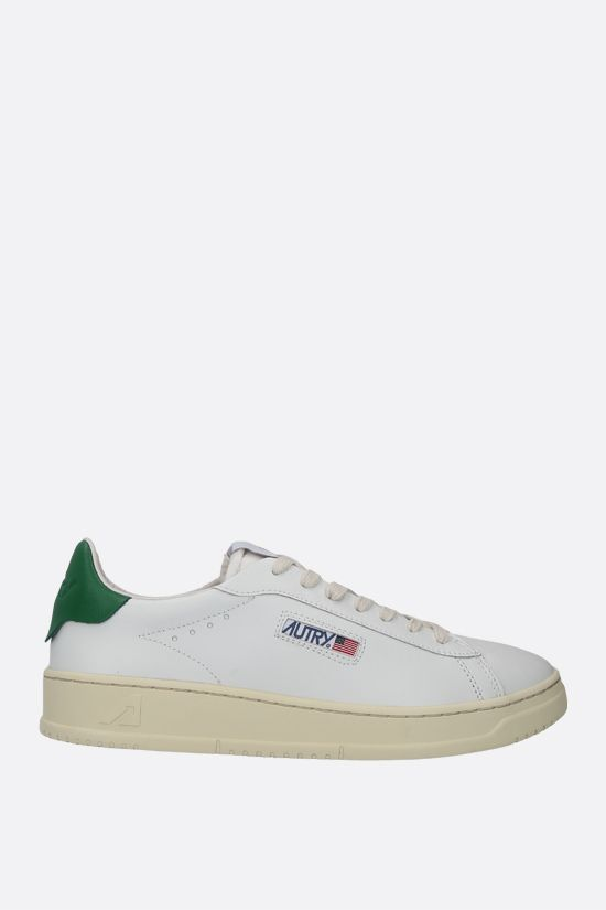 AUTRY: Autry Dallas smooth leather sneakers Color White_1