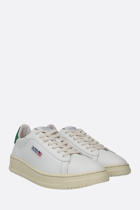 AUTRY: Autry Dallas smooth leather sneakers Color White_2