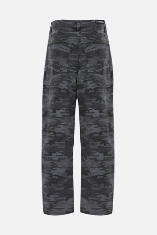 BALENCIAGA: jeans baggy-fit stampa camouflage Colore Multicolore_2