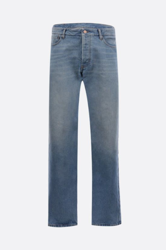 BALENCIAGA: straight-leg jeans Color Blue_1