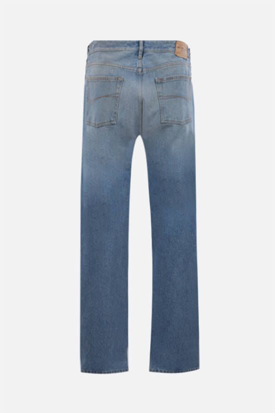 BALENCIAGA: straight-leg jeans Color Blue_2