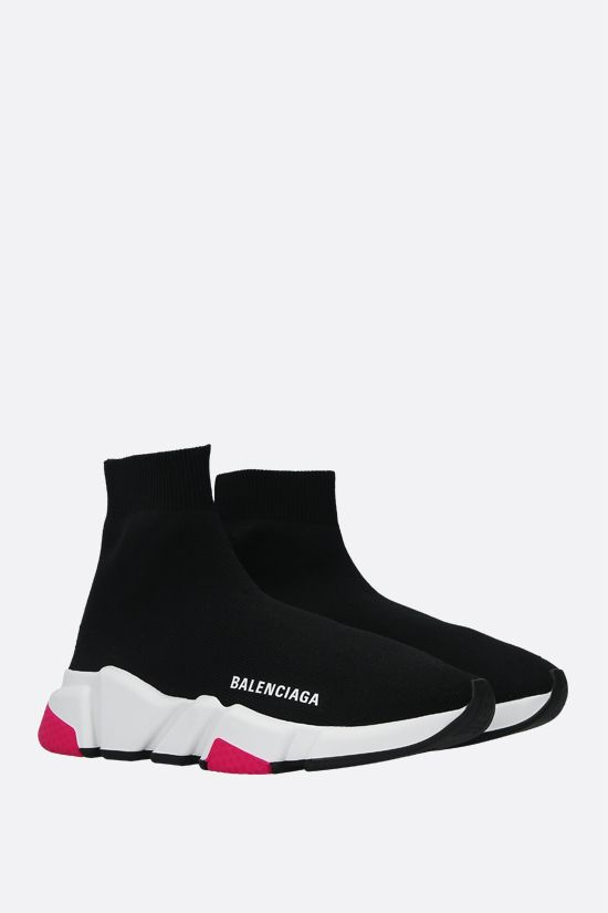 BALENCIAGA: Speed recycled knit trainers Color Black_2