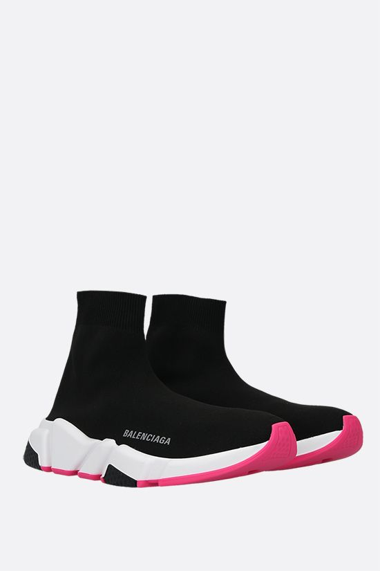 BALENCIAGA: Speed stretch recycled knit trainers Color Multicolor_2