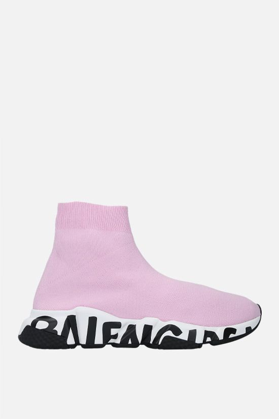 BALENCIAGA: Speed stretch knit trainers Color Multicolor_1