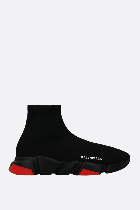 BALENCIAGA: Speed recycled stretch knit trainers Color Black_1