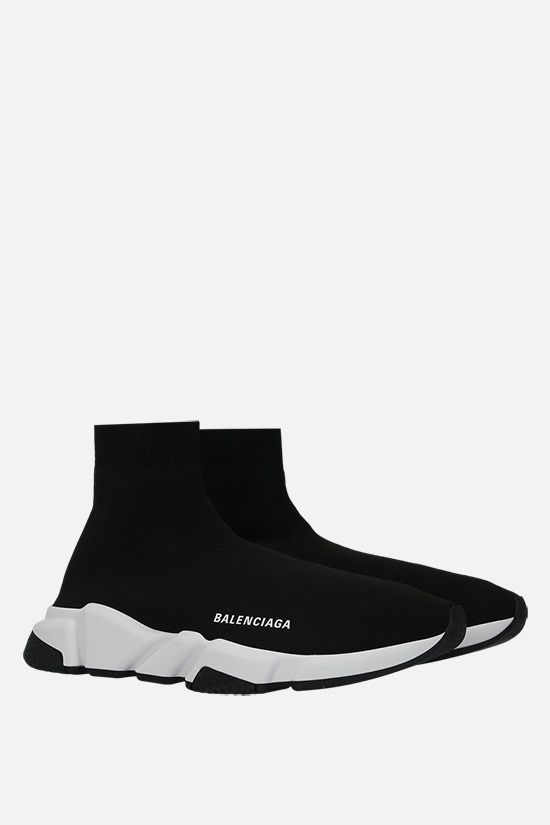 BALENCIAGA: Speed recycled stretch knit trainers Color Black_2