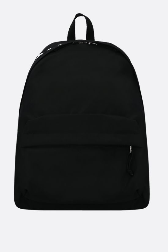 BALENCIAGA: Wheel recycled nylon backpack Color Black_1
