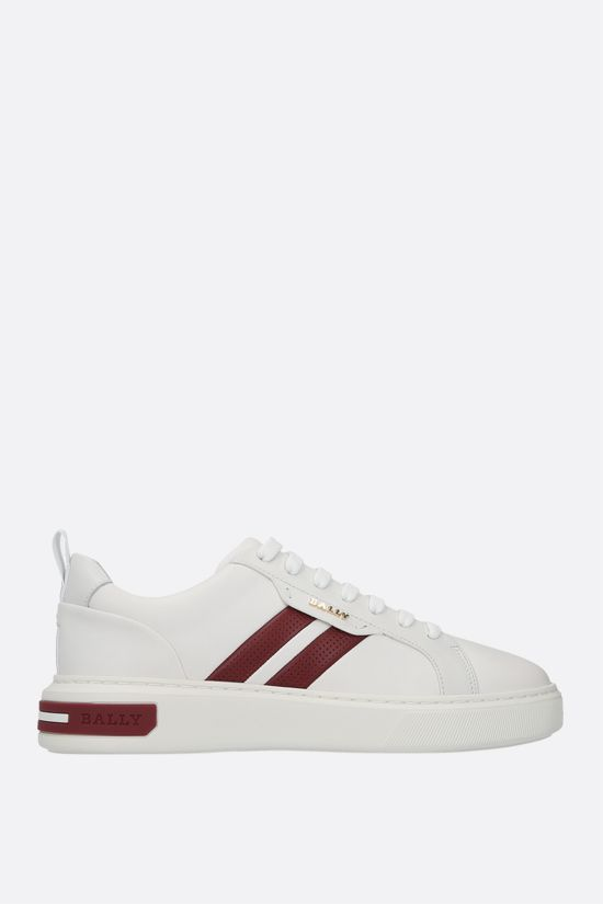 BALLY: Maxim smooth leather sneakers Color White_1
