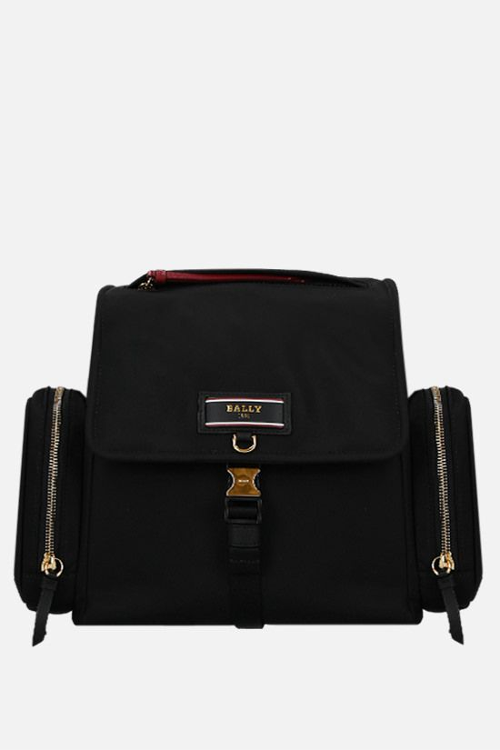 BALLY: Evany recycled nylon backpack Color Black_1