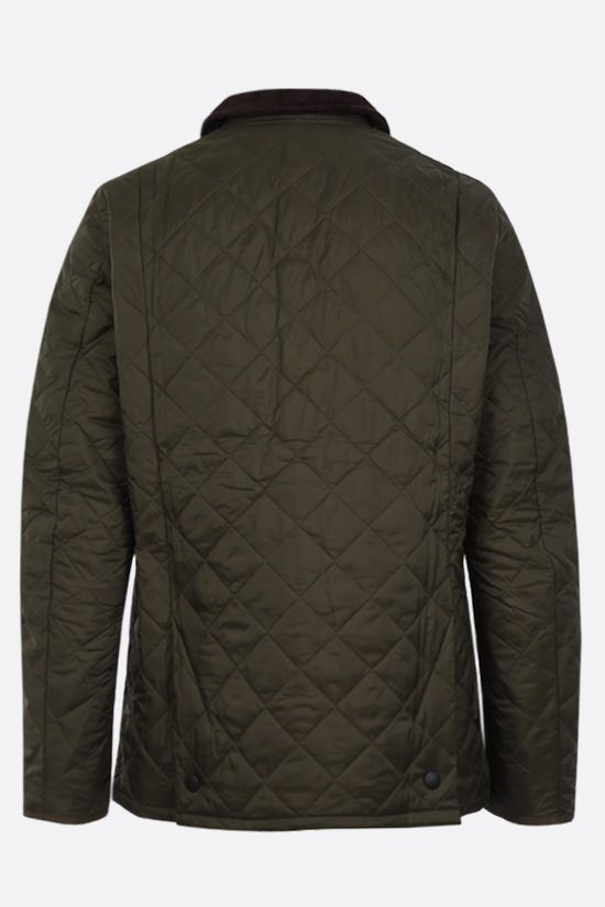 BARBOUR: Heritage Liddesdale quilted nylon jacket Color Green_2