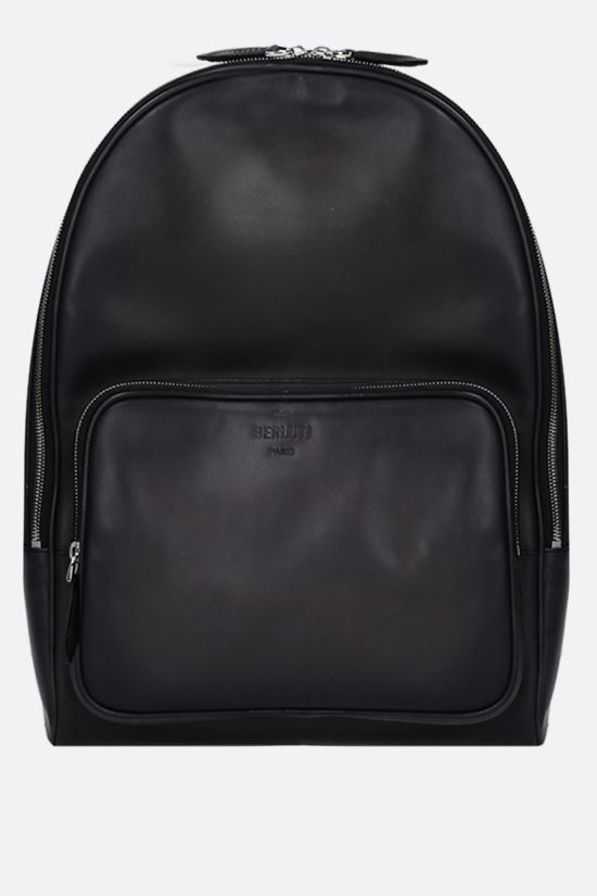 BERLUTI: Time-Off backpack in Venezia leather Color Black_1