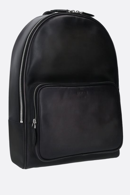BERLUTI: Time-Off backpack in Venezia leather Color Black_2