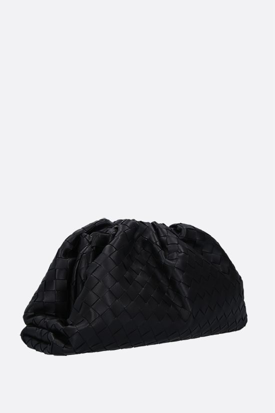 BOTTEGA VENETA: The Pouch clutch in Intrecciato VN Color Black_2