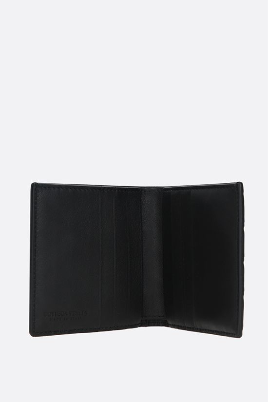 BOTTEGA VENETA: Intrecciato VN billfold wallet Color Black_2