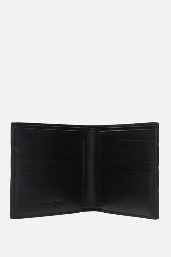 BOTTEGA VENETA: Intrecciato VN billfold billfold wallet Color Black_2