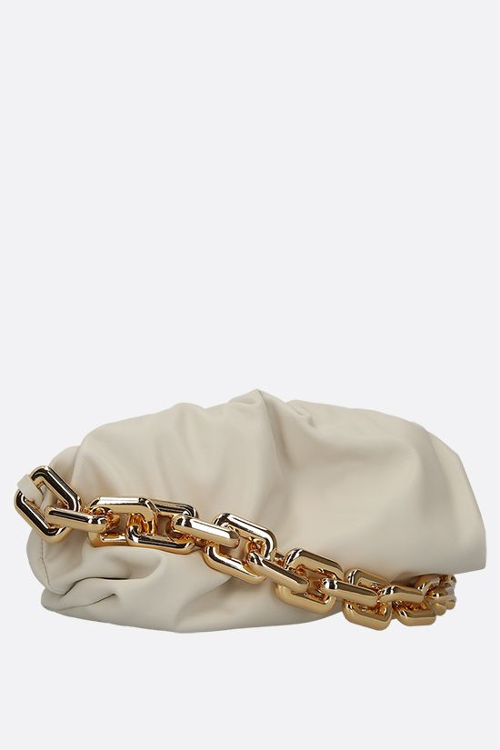 BOTTEGA VENETA: The Chain Pouch smooth leather clutch Color Multicolor_2
