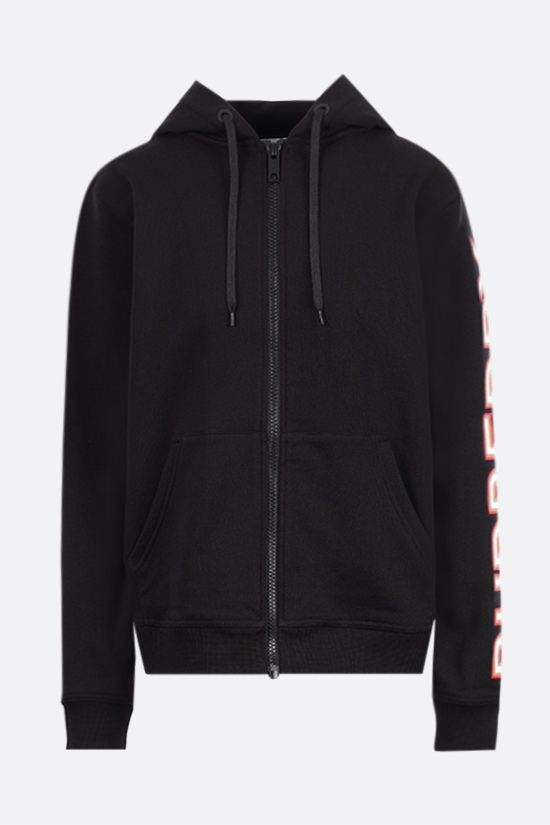 BURBERRY: Rylee oversize cotton hoodie Color Black_1