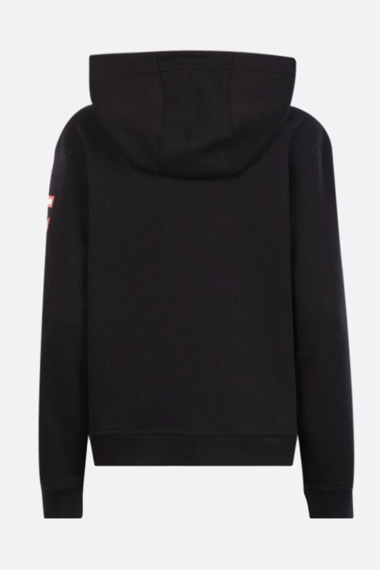 BURBERRY: Rylee oversize cotton hoodie Color Black_2