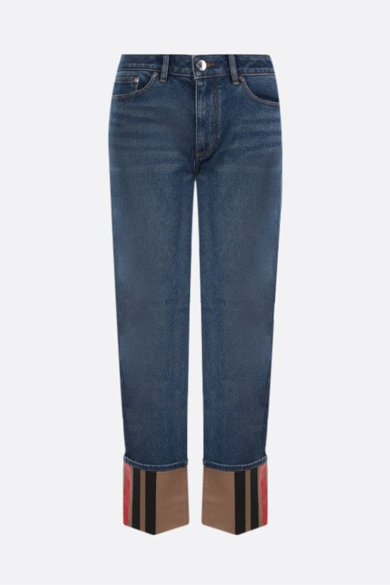 BURBERRY: jeans straight-fit Marissa Colore Blu_1