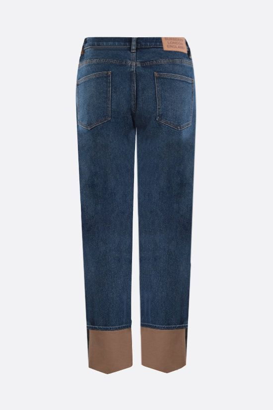 BURBERRY: jeans straight-fit Marissa Colore Blu_2