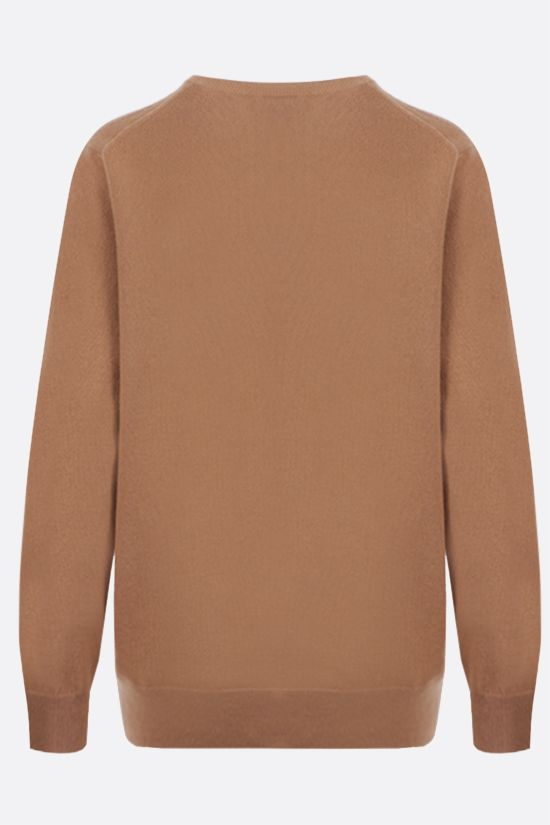 BURBERRY: pullover Steffy in cashmere tecnico Colore Neutro_2