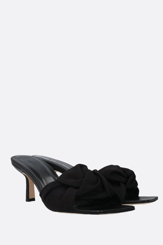 BY FAR: Lana grosgrain mule sandals Color Black_2
