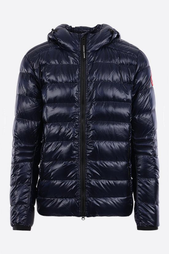 CANADA GOOSE: Crofton recycled nylon down jacket Color Blue_1